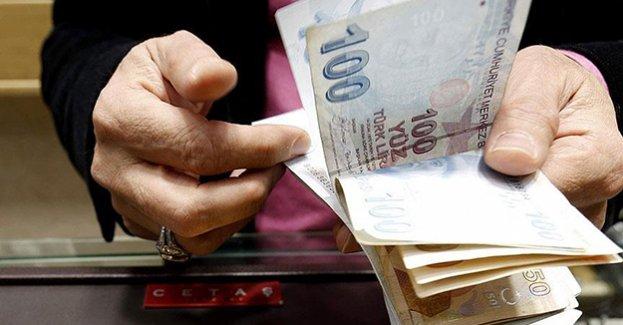 Harçlar için cepten 17,3 milyar lira çıktı