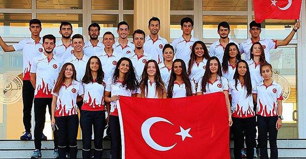 Türkiye oryantiringde 32 madalya aldı