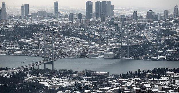 İstanbul için kar uyarısı