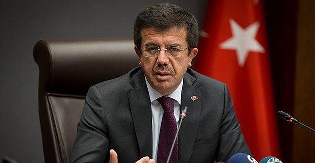 Ekonomi Bakanı Zeybekci: 2017'nin ilk çeyreğinde dünyanın en hızlı büyüyen 3. ülkesi olduk