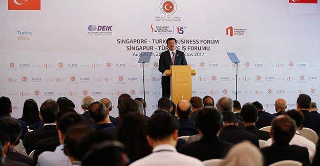 Ekonomi Bakanı Zeybekci: Singapur ile 2 milyar dolarlık dış ticaret hedefi