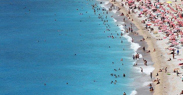 Bayramda 1 milyon kişi tatil yaptı