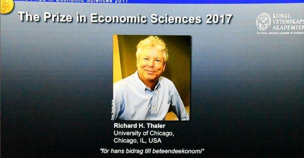 Nobel Ekonomi Ödülü'nü Thaler kazandı