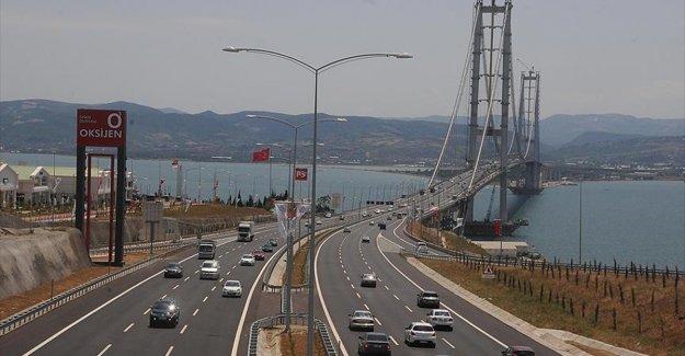 'Osmangazi Köprüsü'nden günde ortalama 21 bin araç geçiyor'