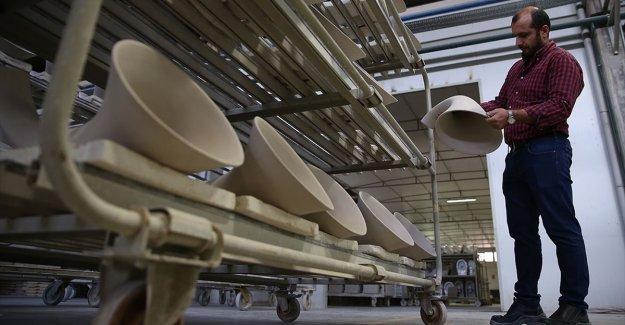 Türkiye'den 6 kıtaya seramik ihracatı