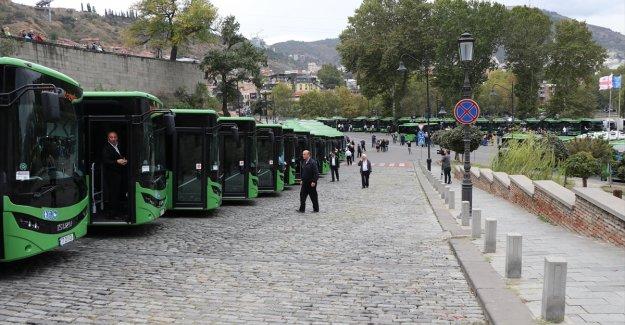 Anadolu Isuzu, Tiflis'e Novociti Life teslimatına başladı