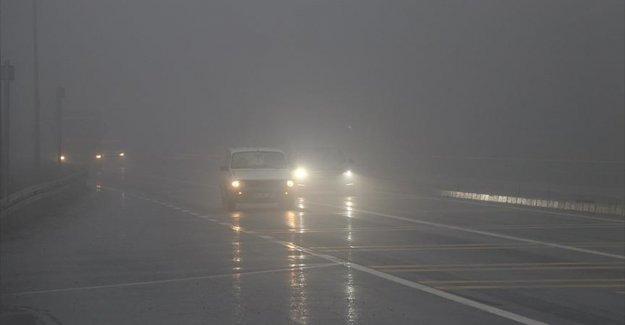 Meteorolojiden sağanak ve sis uyarısı