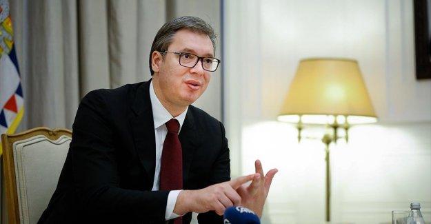 Sırbistan Cumhurbaşkanı Vucic AA'ya konuştu