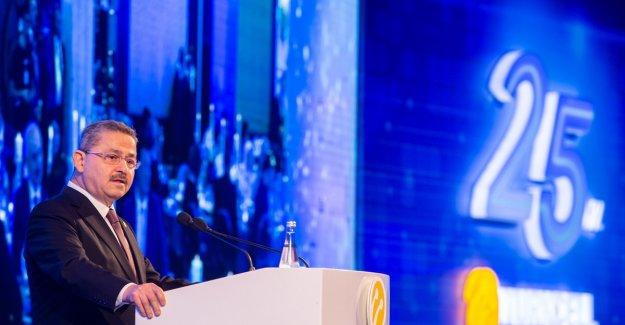Turkcell 25. kuruluş yıl dönümü resepsiyonu