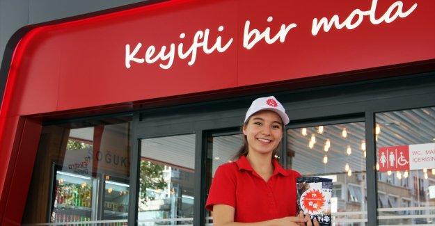 Türkiye Petrolleri ücretsiz mama dağıttı
