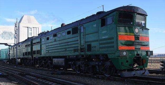 Çin'den Avrupa'ya giden trenin yolculuğunda Türk Konseyi'nin katkısı büyük