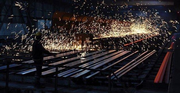 Sanayi üretimi ekimde arttı