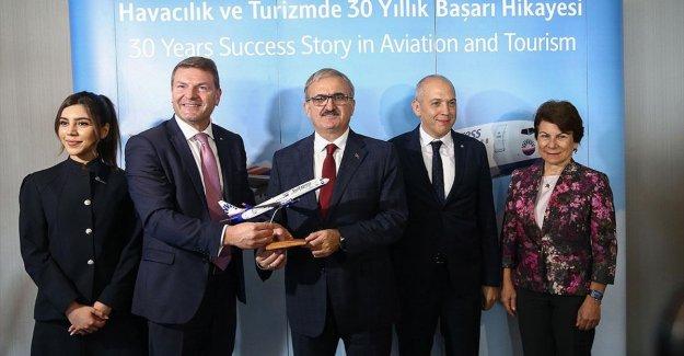 SunExpress'ten Antalya için rekor koltuk artırımı