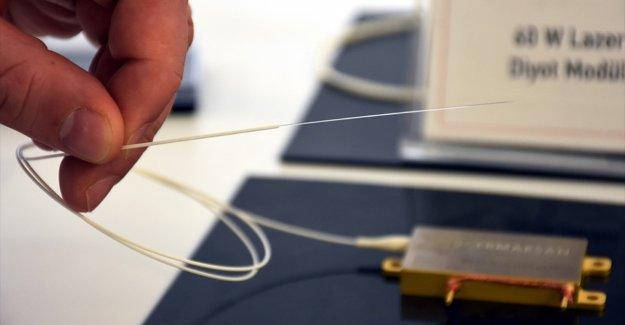 Saç teli kalınlığında yerli sensör üretiyorlar