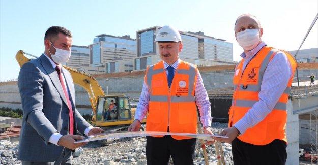 Başakşehir Şehir Hastanesinin yolları da 20 Mayıs'ta açılacak