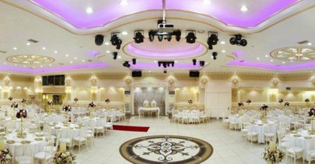 Düğün Salonlarının Çalışma Koşulları Belirlendi