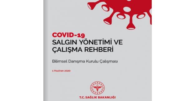 Salgın yönetimi ve çalışma rehberi yayınlandı