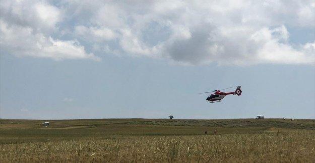 TUSAŞ: Test uçuşu yapan Hürkuş uçağımız kaza geçirdi 2 pilotumuzun durumları iyi