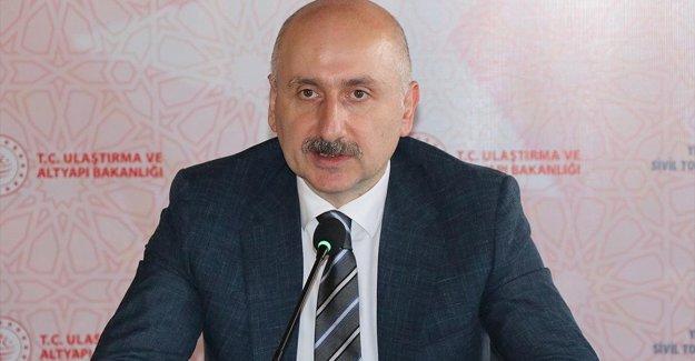 Ulaştırma ve Altyapı Bakanı Karaismailoğlu: Salgın sürecinde ülke genelindeki hiçbir şantiyemiz kapanmadı
