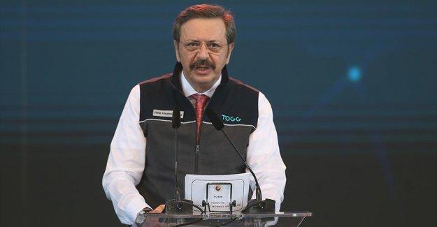 TOBB ve TOGG Yönetim Kurulu Başkanı Hisarcıklıoğlu: Türkiye'nin Otomobili yeni bir meydan okumadır