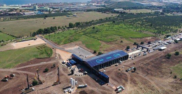 'Türkiye'nin Otomobili'nin üretileceği alan havadan görüntülendi