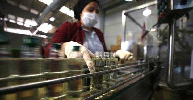 Türkiye'nin kolonya ihracatı yılın ilk yarısında rekor seviyeye ulaştı