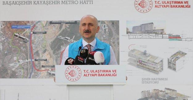 Bakan Karaismailoğlu: Başakşehir-Kayaşehir Metro Hattını yapması gerekenler yapmadığı için üzerimize aldık