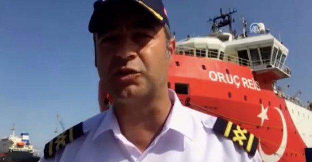 MTA Oruç Reis gemisinin kaptanı Cankat Uzşen: Mavi Vatan'da görev yapmak gurur ve onur