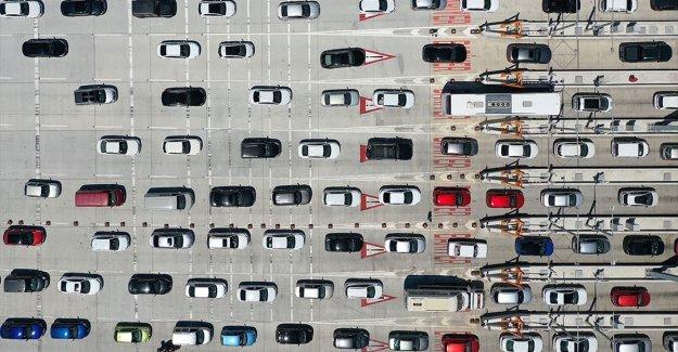 Türkiye'de 9 ayda trafiğe 736 bin 543 aracın kaydı yapıldı