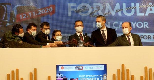 Borsa İstanbul'da gong Formula 1 için çaldı