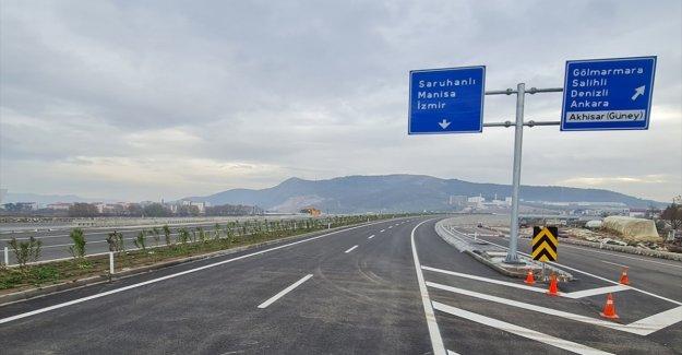 Akhisar çevre yolu yarın törenle açılacak