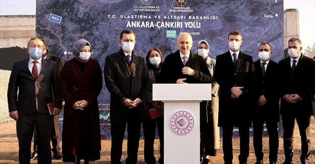 Ankara-Akyurt yolu 2021'de hizmete açılacak
