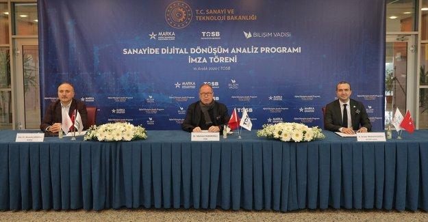 OSB'ler Bilişim Vadisi ile dijitalleşecek
