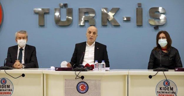 Türk-İş Genel Başkanı Atalay: İşveren ve hükümetin 'evet' diyeceğimiz bir rakam getireceğini umut ediyoruz