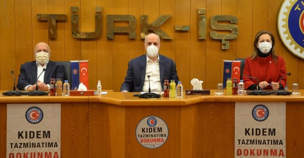 Türk-İş, Hak-İş ve DİSK'ten asgari ücret açıklaması: İnsan onuruna yaraşır geçinmeyi sağlayacak bir seviyede olmalı