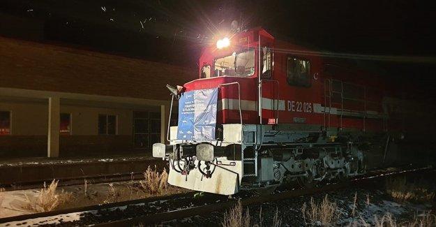 Türkiye'den Çin'e gidecek ilk blok ihracat treni Gürcistan'da