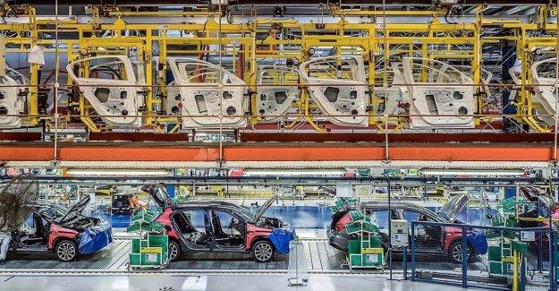Türkiye'den 2020'de 9,5 milyar dolarlık binek otomobil ihraç edildi