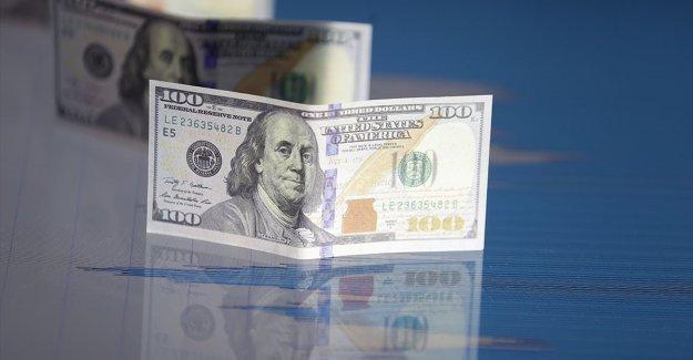 Dolar 6 ayın en düşük seviyesine geriledi