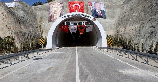 'Kızılcahamam-Çerkeş Tüneli' açıldı