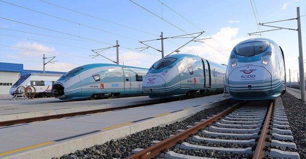 Siemens'in ürettiği YHT setlerinin sonuncusu da Türkiye'ye ulaştı