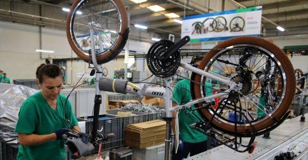 Türkiye'nin elektrikli bisiklet ihracatı önceki yıla göre 3 kat arttı