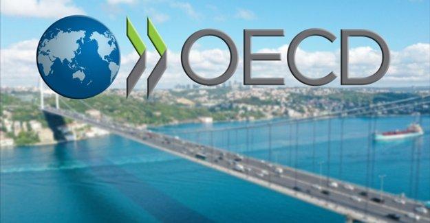 OECD, Türkiye ekonomisinin 2021 için büyüme tahminini yüzde 2,9'dan yüzde 5,9'a yükseltti