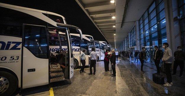 Şehirler arası yolcu taşımacılığında yüzde 50 şartı kaldırıldı
