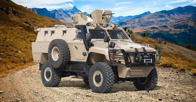 Türk zırhlısı Cobra II yeni versiyonuyla en tehlikeli görevlere hazır