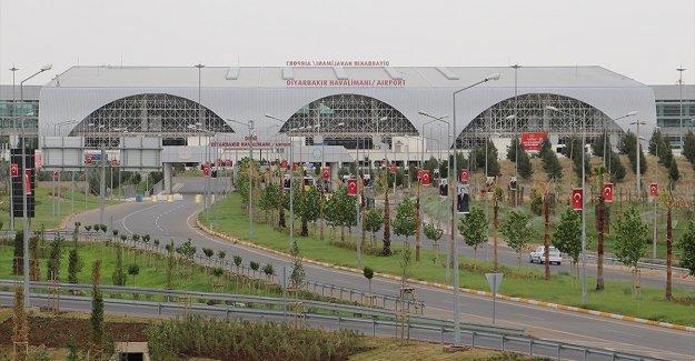 Diyarbakır Havalimanı ana pistte bakım onarım çalışması nedeniyle 24 Haziran'a kadar kapatılacak