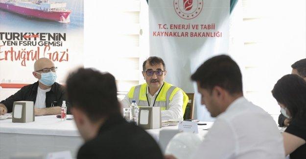 Enerji ve Tabii Kaynaklar Bakanı Dönmez: Hedefimiz ülkede tüketilen doğal gazın yüzde 20'sini yer altında depolayabilmek