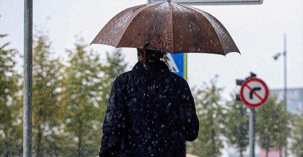 Meteoroloji'den 5 bölge için kuvvetli sağanak uyarısı