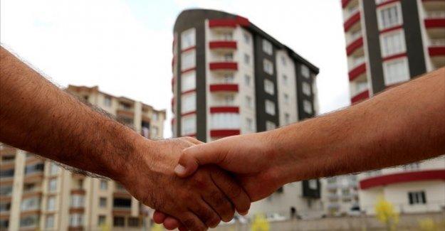 Türkiye genelinde beş ayda 980 bin 630 gayrimenkul satış işlemi yapıldı