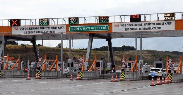 İstanbul-İzmir Otoyolu'nda gişede sürücülerin bekleme sürelerini azaltan uygulama başladı