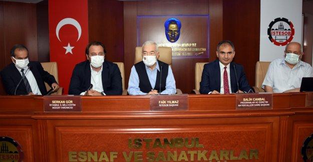 İSTANBUL'DAN MESLEKİ EĞİTİM ATAĞI